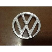 Emblema Vw Do Capo Do Fusca Em Aluminio Replicado Original