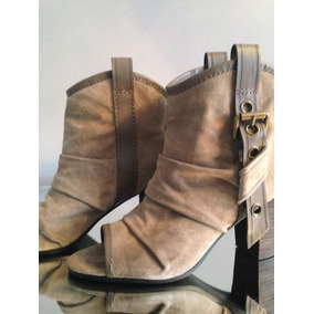 :::. Botas Beige De Reno Nine West, Nro 40. :::