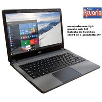 Notebook Tcl 14 Eximia Slim/2 C14500- 4gb-500 D.rigido-wifi