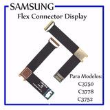 Flex Lcd Samsung C 3752 C 3750 C3752 C3750 Gt-c3752 Gt-c3750