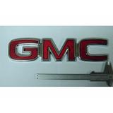 Emblema Gmc Grande C/ Travas P/ Linha Chevrolet - Sle