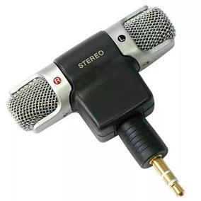 Microfone Mini Stéreo P2 Celular Androir Iphone Top Pequeno