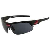 Hb Highlander 3b - Óculos De Sol Matte Black D. Red/ Gray
