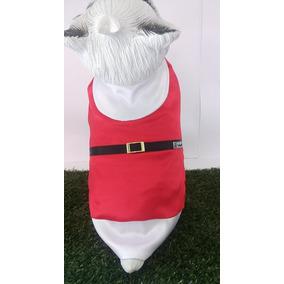 Roupa Pet Para Cães E Gatos Roupa Papai Noel Cão Esquimó