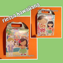 Paquete Fiesta Mesa De Dulces Fiesta Hawaiiana