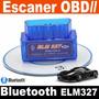 Escaner Automotriz Obdii Obd2 Bluetooth Elm327 Multimarca !!