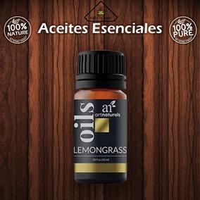 Aceite Esencial Hierba De Limón 10 Ml 100 % Puro Y Natural