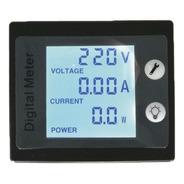 Wattimetro Voltimetro Amperimetro Ac 110v 220v 100a Energia