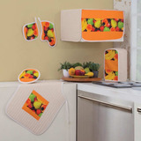 Concord | Set De Accesorios Decorativos De Cocina Fruits