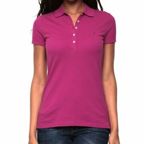Playera Polo Edv New Flag Mujer Tommy Hilfiger To034
