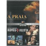 Dvd Duplo - A Praia - Romeu & Julieta - Leonardo Dicaprio