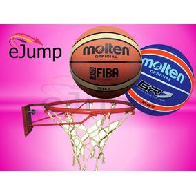 Aro De Basquet Nº7 + Pelota De Basket Molten Gr7 Nº7
