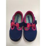 Zapatos Livianos P/ Nena Suela De Goma Skechers Talle 22