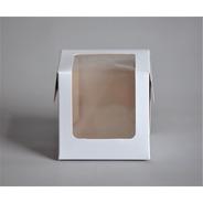Caja 1 Pieza Visor Pvc 10x10x10cm (x100) Mini Porcion 050