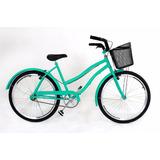 Bicicleta 26 Beach Bike Caiçara Vintage Retro Praiana