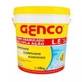 Genco L.e Cloro Granulado Múltipla Ação 3em1 10kg Genco