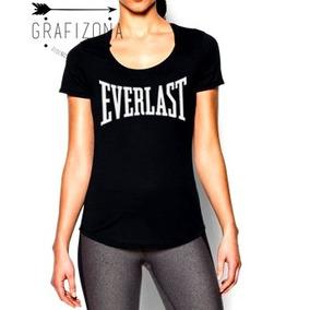 Remera Everlast Mujer Dama Entrenamiento Box Crossfit Gym