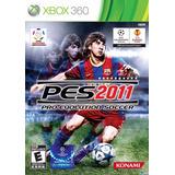 Juego Pro Evolution Pes 2011 Xbox 360 Ntsc En Español