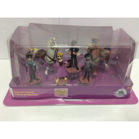 Figuras Play Set De Disney Store De Rapunzel 100% Nuevo