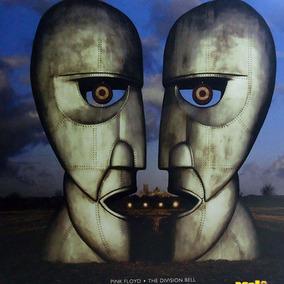 Pink Floyd 1994 The Division Bell Lp Lacrado Colorido Azul
