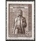 Argentina 802 Gj 1425 100 Años Diario La Capital De Rosario
