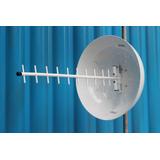 Kit Antena Cubica P/ Telefone E Internet Rural 1800/2100mhz