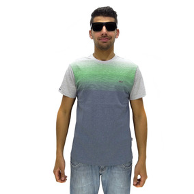 Camiseta Manga Curta Vlcs Gradient Sem Capuz Green