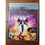 Saints Row Gat Out Of Hell Playstation 3 Ps3 Gran Estado !!