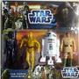 Blister De Muñecos Star Wars Yoda Chewbacca Vader R2d2 Luc