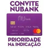 Convite Cartão Nubank Mastercard Internacional Sem Anuidade