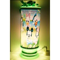 Mickey Mouse Bebe Centros De Mesa,recuerdos,lamparas Persona