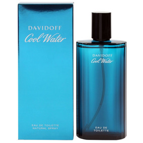 Perfume De Caballero Davidoff Cool Water 125ml 100%original