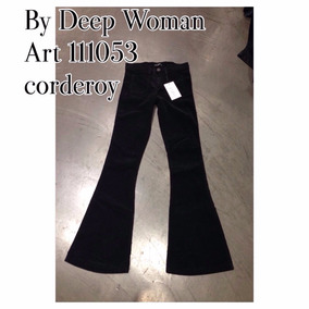 Pantalones Corderoy Oxford Mujer By Deep