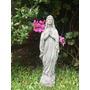 Estatua Virgen De Lourdes - Piedra 40 Cms