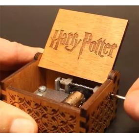 Caixinha Caixa De Música Harry Potter Pronta Entrega