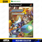 [ Mega Man X Collection ] Nuevo Megaman Capcom Ps2 | Tracia