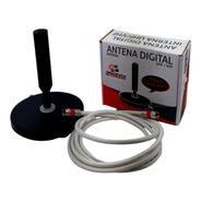 Antena De Tv Digital 4 Em 1 Hdtv Vhf Uhf Fm Dtv-100 Mais