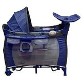 Baby Kits Cuna Bebe Corral Traveler - Azul