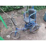 Bicicleta Tres Ruedas Especial Para Niño Minusvalido Aro 16