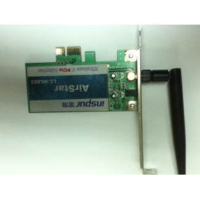 Tarjeta De Red Inalambrica Wifi Pci Express Con Antena