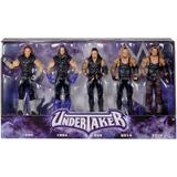 Wwe Set De 5 Figuras Del Undertaker Wrestlemania De Mattel