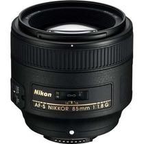 Lente Nikon Nikkor Af-s 85mm F/1.8g + Caneta De Limpeza