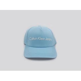 Boné Calvin Klein Aba Curva Masculino - Clássico Azul Claro 0ea0ae6ff7d