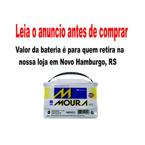 Bateria Carro 60ah Moura - 12v Selada