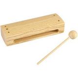 Caja China Madera Percusión Menor Clave Alta Resonancia Nuev