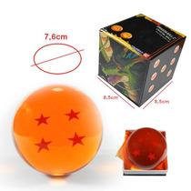 Dragon Ball Esfera Del Dragon 4 Estrellas 7.6cm Tamaño Real