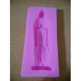 Molde Silicona Jesus Importado Repostería Porcelana Fria