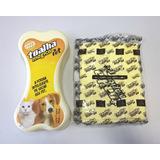 Toalha Mágica Pet Fixxar Para Cães E Gatos - 84x33cm Amarela