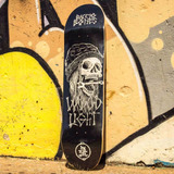 Shape Skate Barato Original Woodlight Eight Skull Black