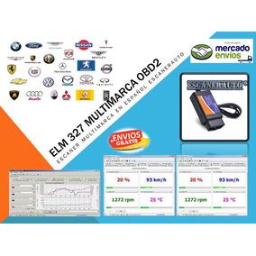 Escaner Multimarcas Interface Elm327 Usb En Español